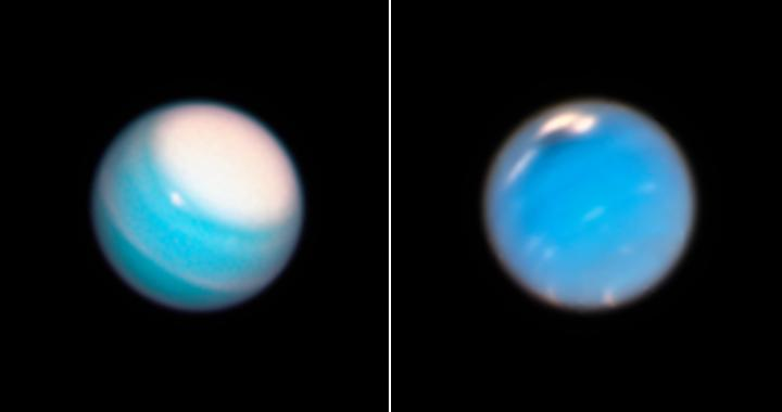 Hubble Observations of Uranus and Neptune