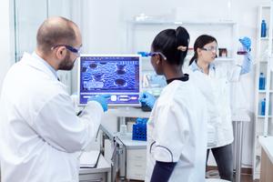 Multiethnic Team Condcuting Research