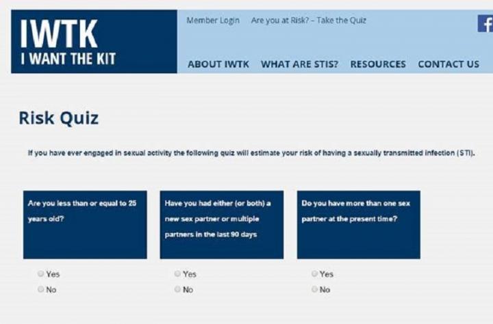STI Risk Quiz