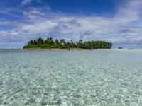 One of Palmyra Atoll's 25 islets