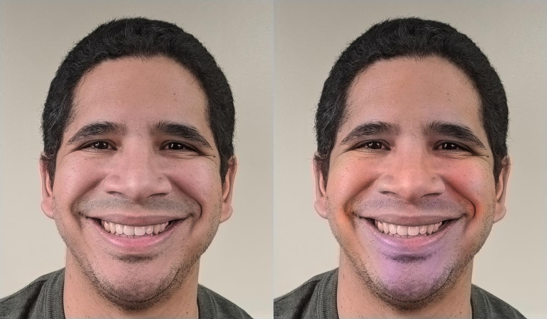 Composite Happy Face