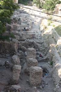 Sidon Excavation Site