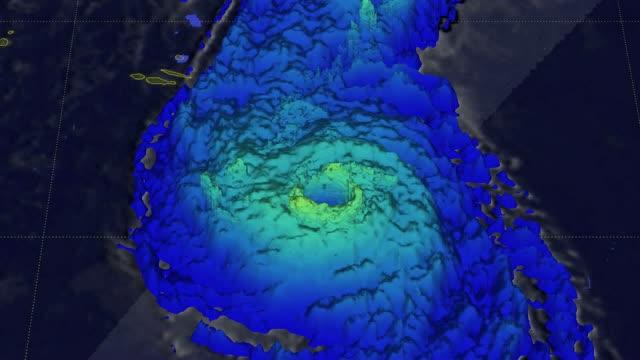 GPM 3-D Flyby of Ophelia