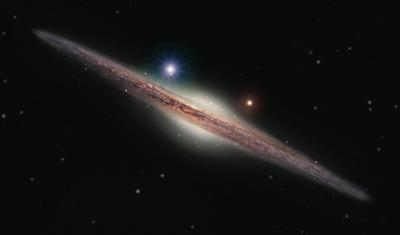 Artist's Impression of the X-ray Source HLX-1