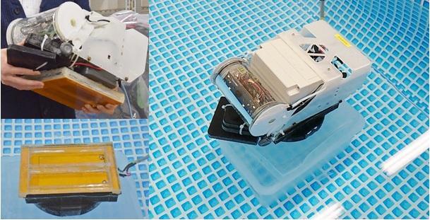 Wireless power transfer to underwater
