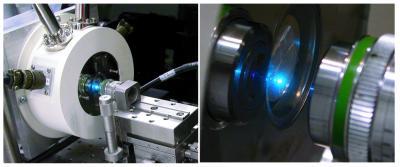 Nanolaser-Optical Setup