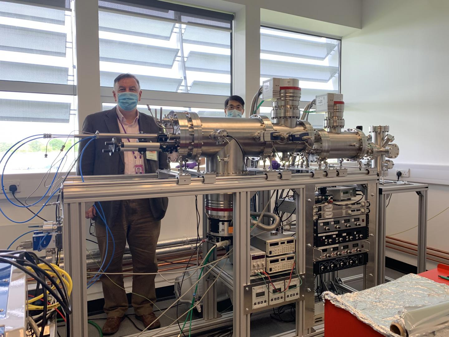 The new nanoparticle instrument at Diamond Light Source.