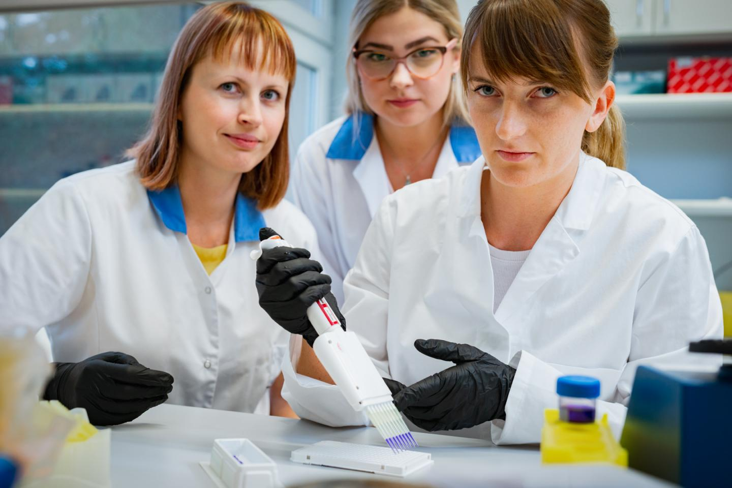 Researchers of Division of Gene Technology from TalTech