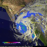 TRMM Image of Odile
