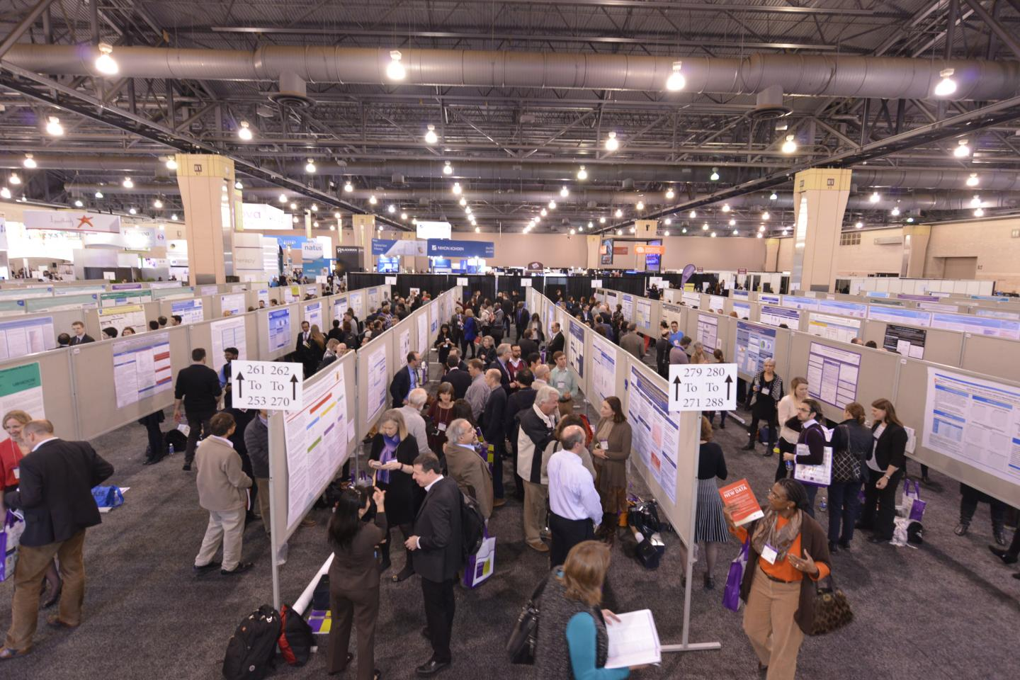AES Poster Sessions Draw a Crowd