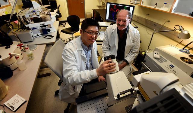 Yong Teng and John Cowell, Augusta University