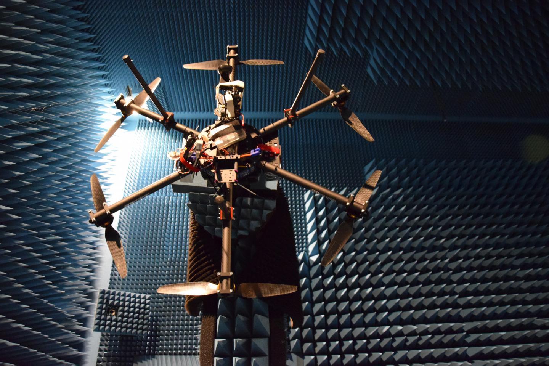 Measuring a Drone's Radar Cross Section