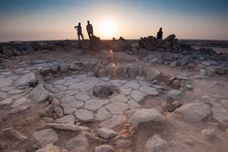 Natufian Hearth at Shubayqa, Jordan