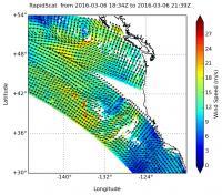 RapidScat Analyzes Pacific Storm Surface Winds
