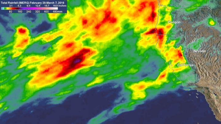 IMERG Rainfall Analysis from Feb. 29 to Mar. 7