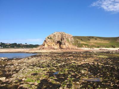 La Cotte Site at Low Tide