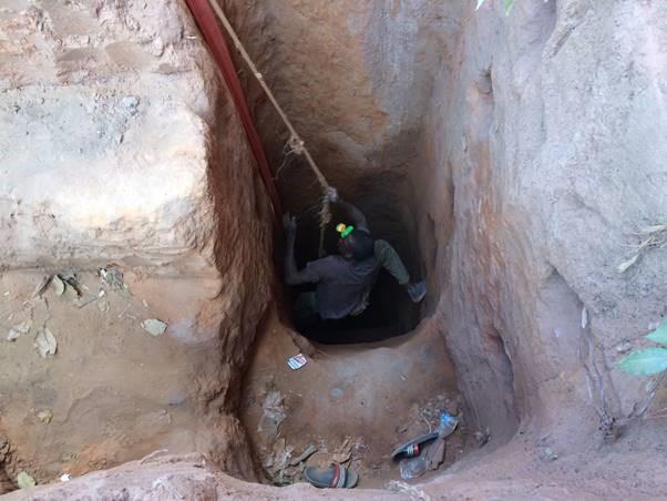 DRC Cobalt Miner