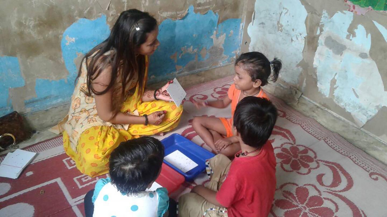 In Preschools in India, Math Games Boost Math Understanding (1 of 1)