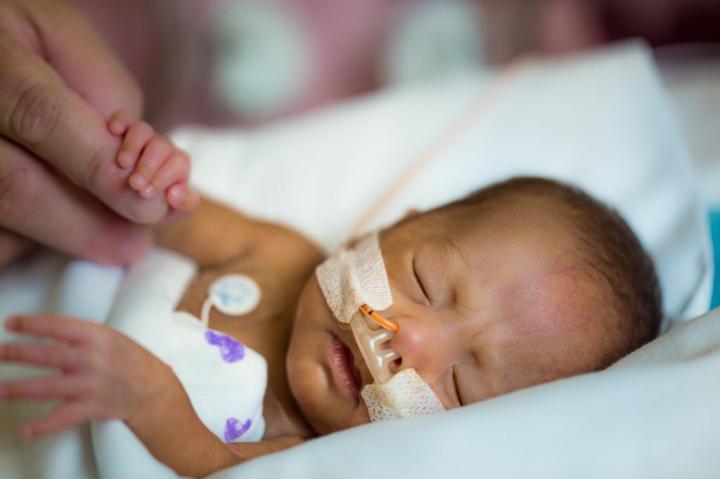 Sick Newborns Often Rely on a Ventilator to Supply Oxygen