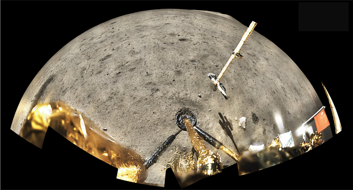 China's Chang'e-5 Moon landing in December 2020