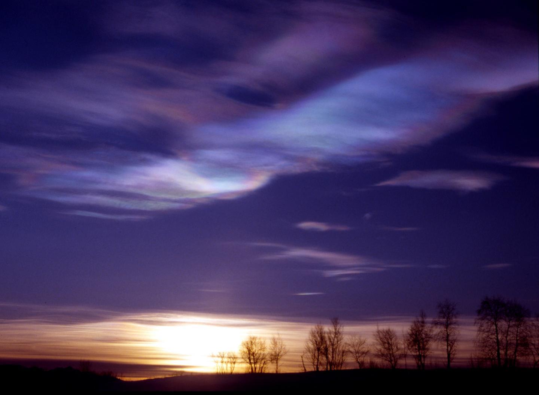 Polar Stratospheric Cloud, Kiruna, Sweden