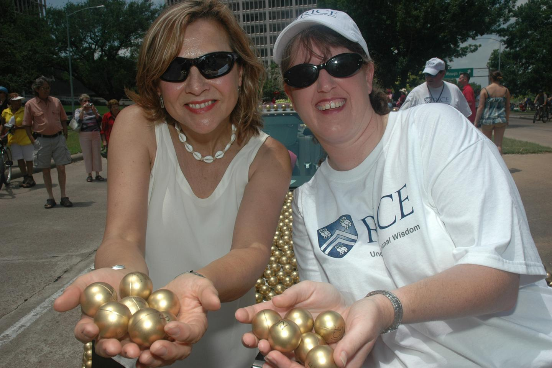 Naomi Halas and Jennifer West, Rice University