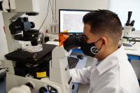 The researcher of the University of Malaga Juan Antonio Garcia-Leon