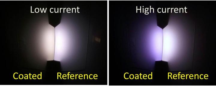 Coated LEDs with a Cozy Glow