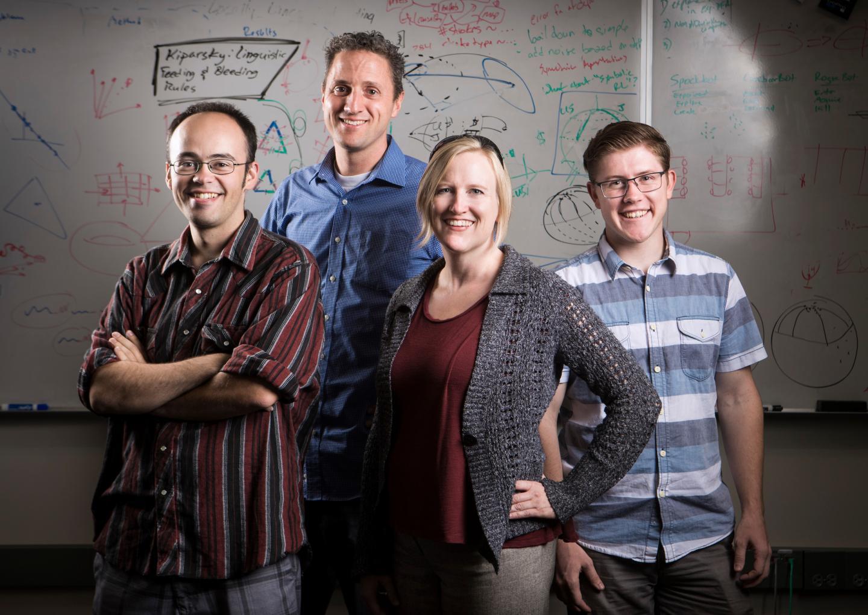 Daniel Ricks, David Wingate, Nancy Fulda and Ben Murdoch, Brigham Young University