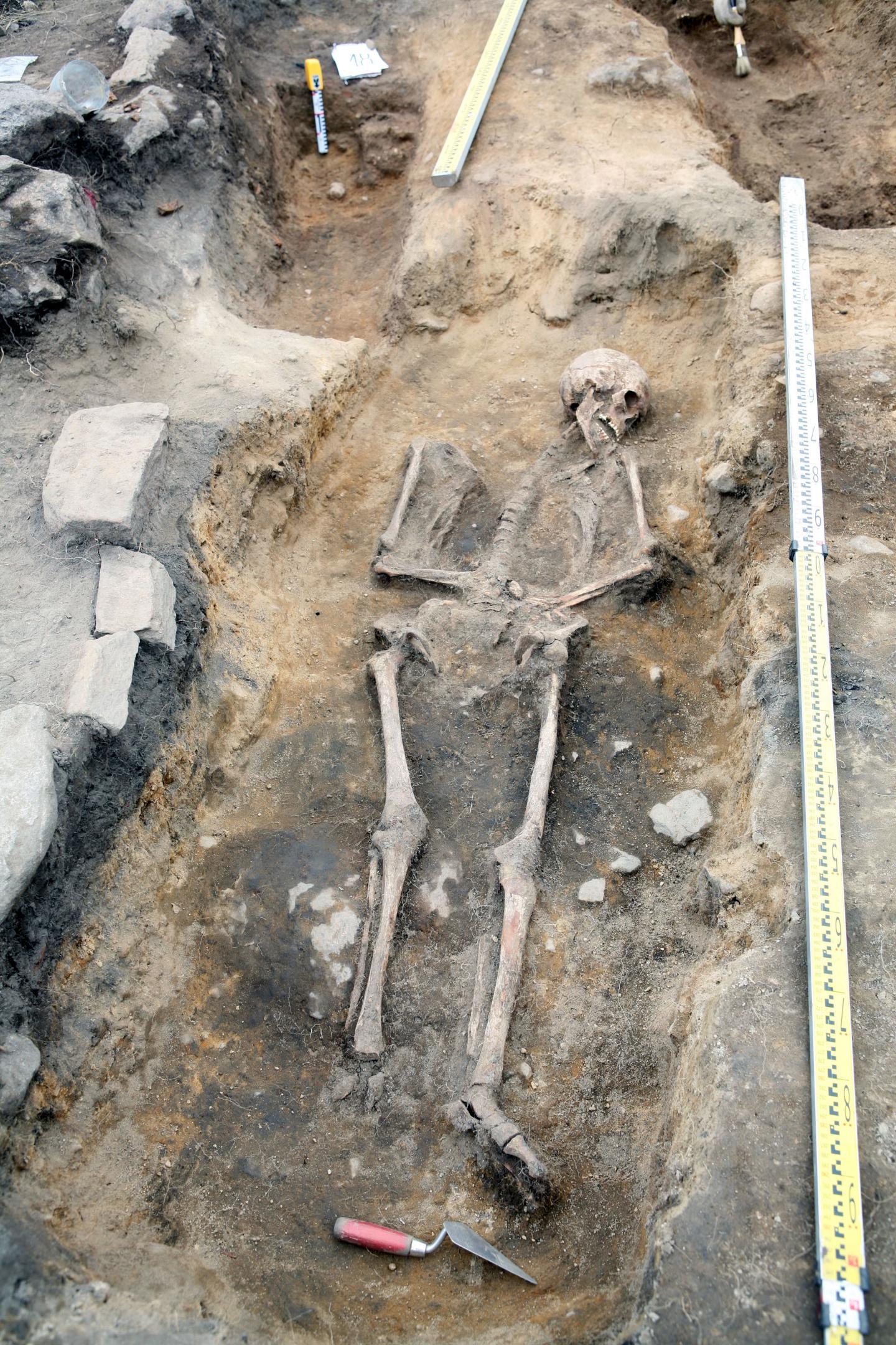 Medieval Burial Site of Kalmistomäki in Kylälahti, Hiitola in Russia