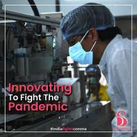 Sanitary Pad-Making Equipment in India Modified to Mass Produces Medical Masks @ 6C Each