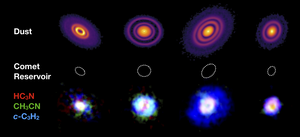 Four of the protoplanetary discs