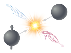 polarized proton collision produces direct photons