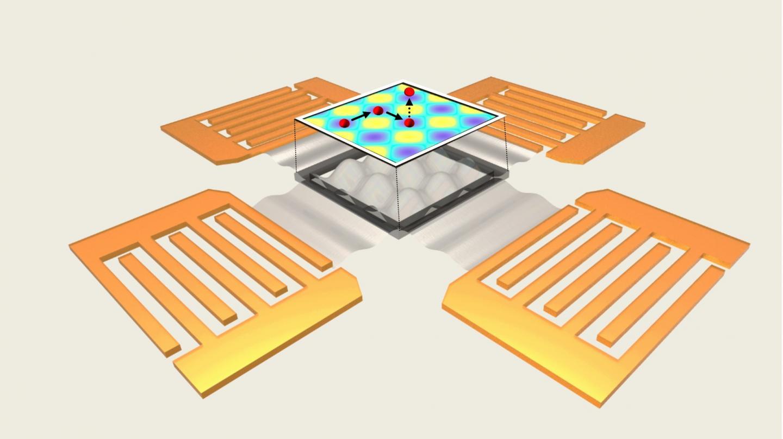 Acoustoelectronic Nanotweezer