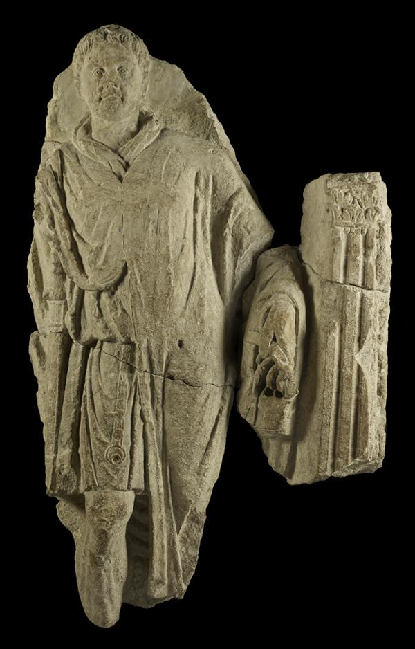 A Soldier's Tombstone from Roman-Era London