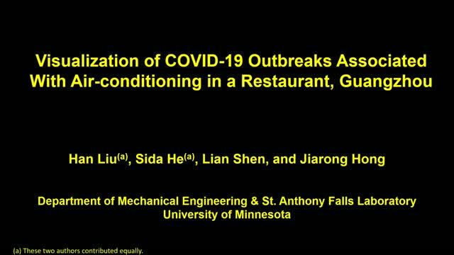 Simulations reveal the airflow-induced transmission in the COVID-19 outbreak in a restaurant in Guangzhou