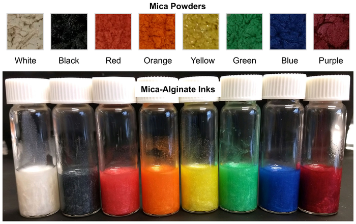 ArtSea Ink: a colorful, seaweed-based ink for 3D printing