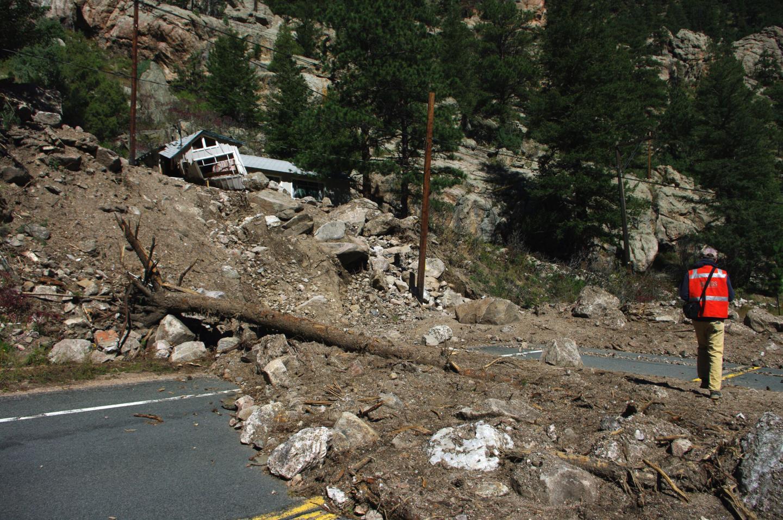 September 2013 Debris Flow in Big Thompson Canyon
