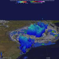 GPM Image of Dineo