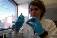 Martina Miotto Working in the Lab 2