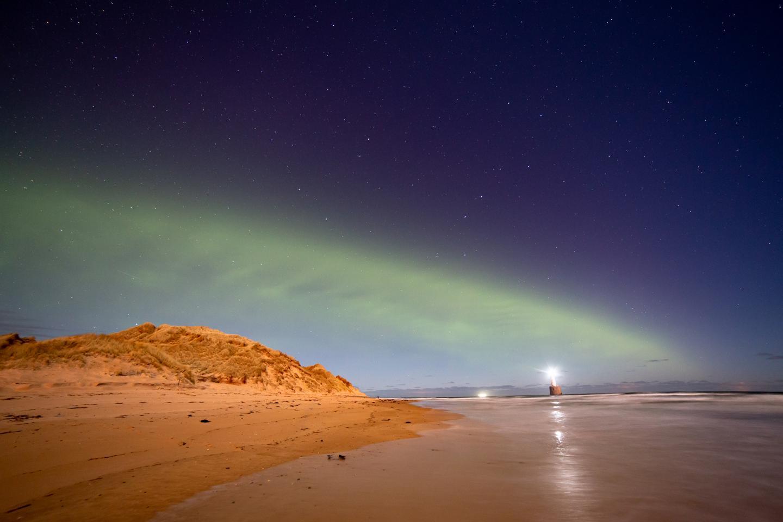 A new auroral phenomenon Dunes