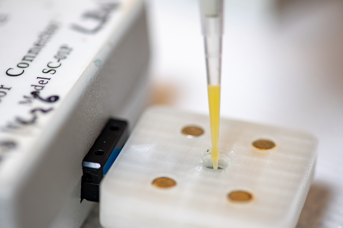 3D-printed glyphosate sensor