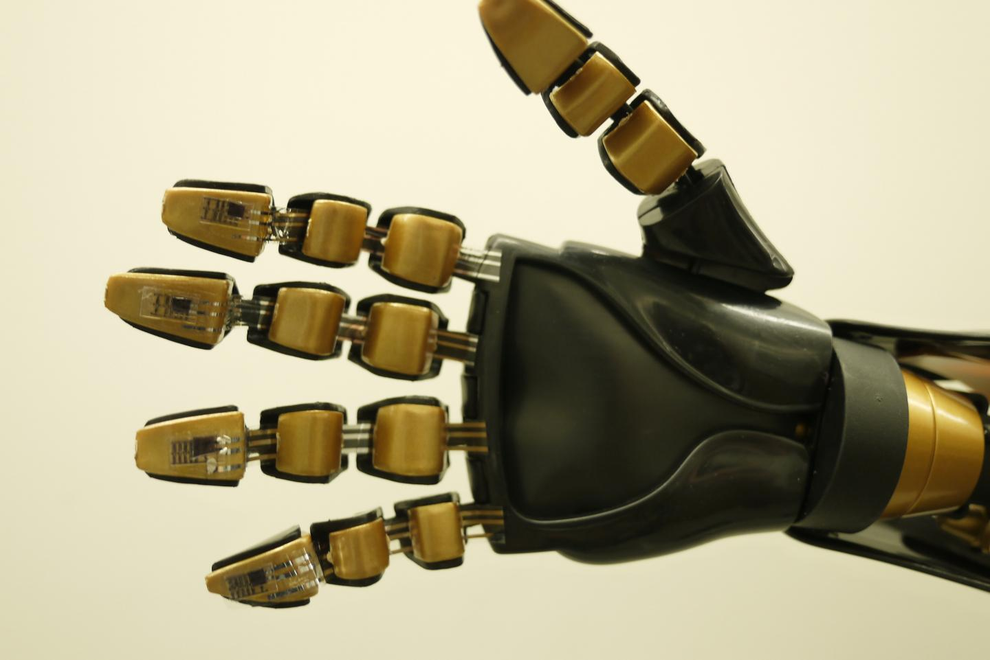 Artificial 'Skin' Could Provide Prosthetics With Sensation (1 of 3)