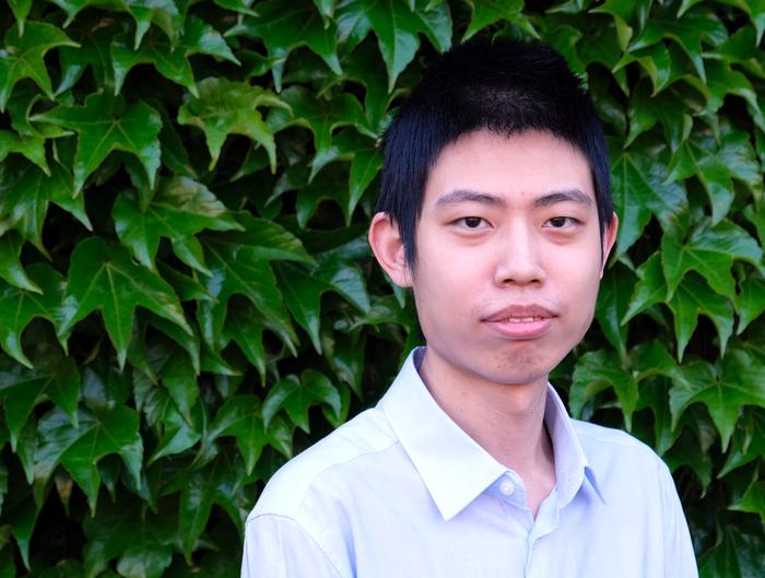 Lead author Ziteng Wang