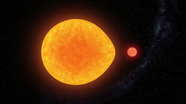 Artist's Impression of Pulsating Star