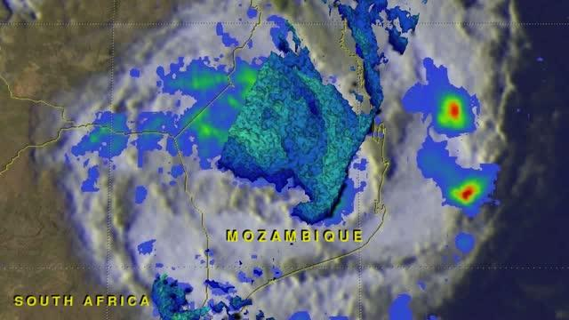 GPM Flyby Animation of Dineo