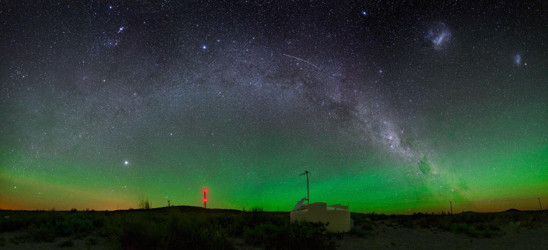Pierre Auger Observatory Night Sky