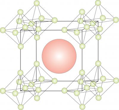 Hexaboride Structure