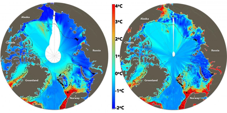 Arctic Ocean Temperature