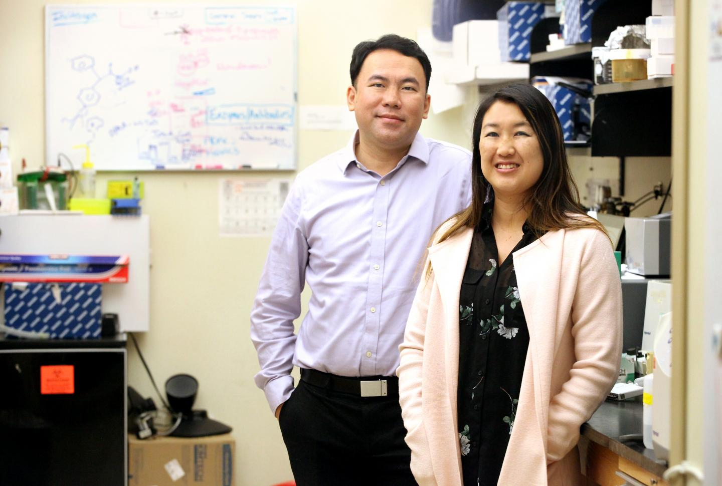 Dr. James Chou and Dr. Sherine Chan of the Medical University of South Carolina (Musc)